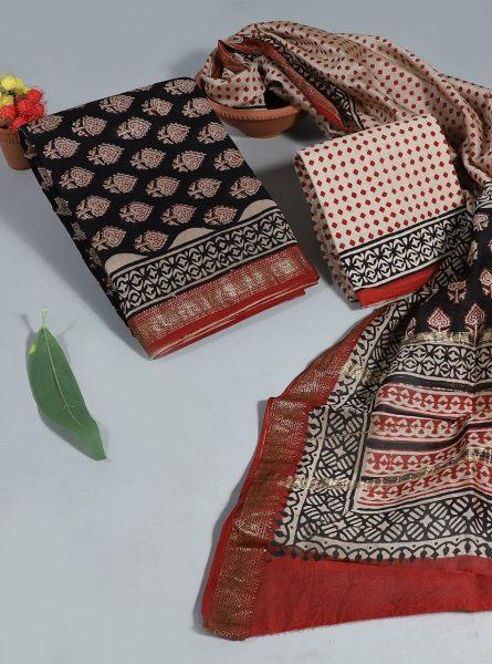 Pure Maheshwari Silk Dresses (15)