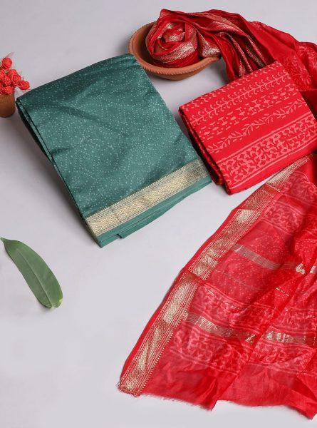 Pure Maheshwari Silk Dresses (17)