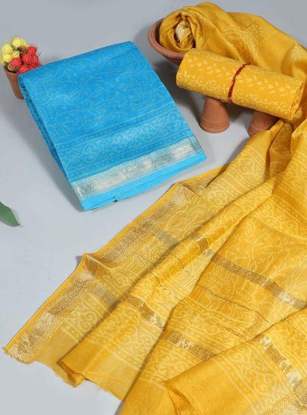 Pure Maheshwari Silk Dresses (18)