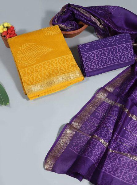Pure Maheshwari Silk Dresses (2)