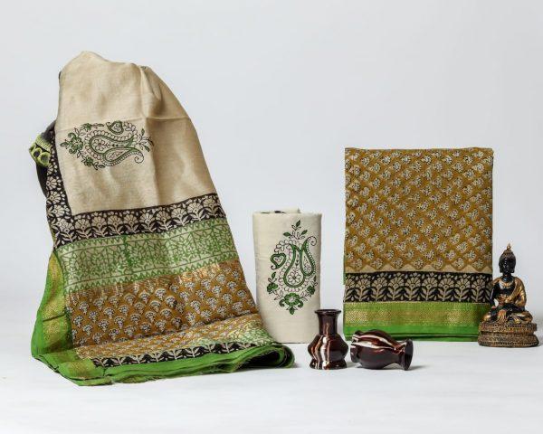 Pure Maheshwari Silk Dresses (21)