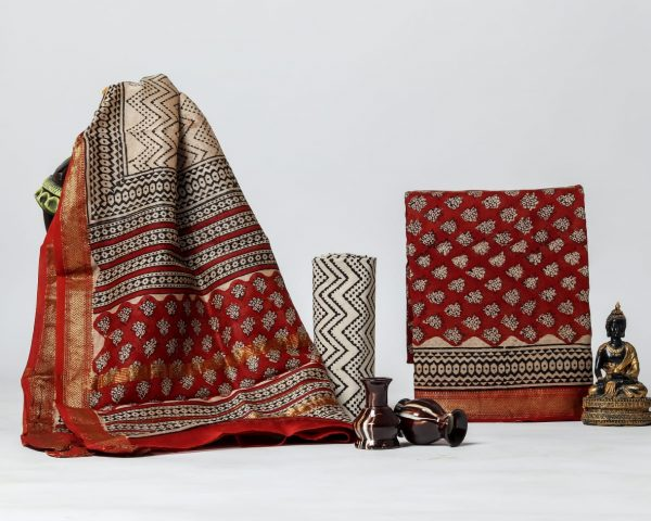 Pure Maheshwari Silk Dresses (26)