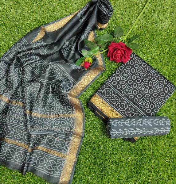 Pure Maheshwari Silk Dresses (30)