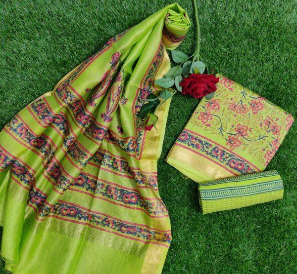 Pure Maheshwari Silk Dresses (31)