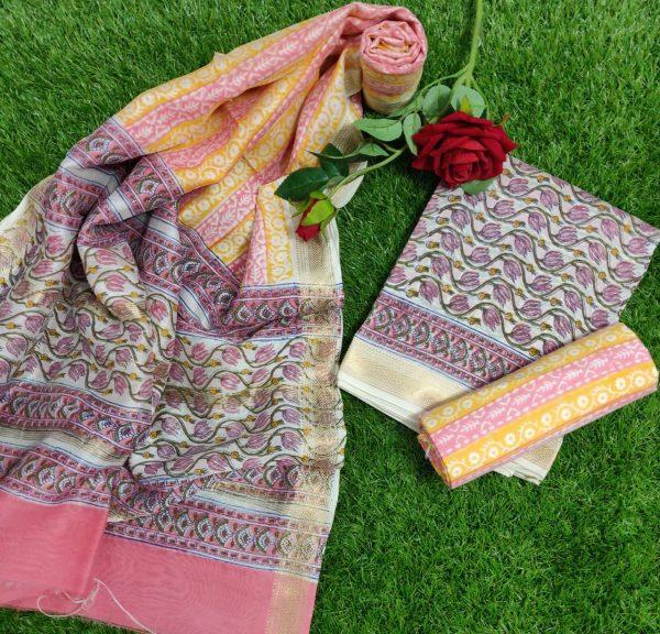 Pure Maheshwari Silk Dresses (33)