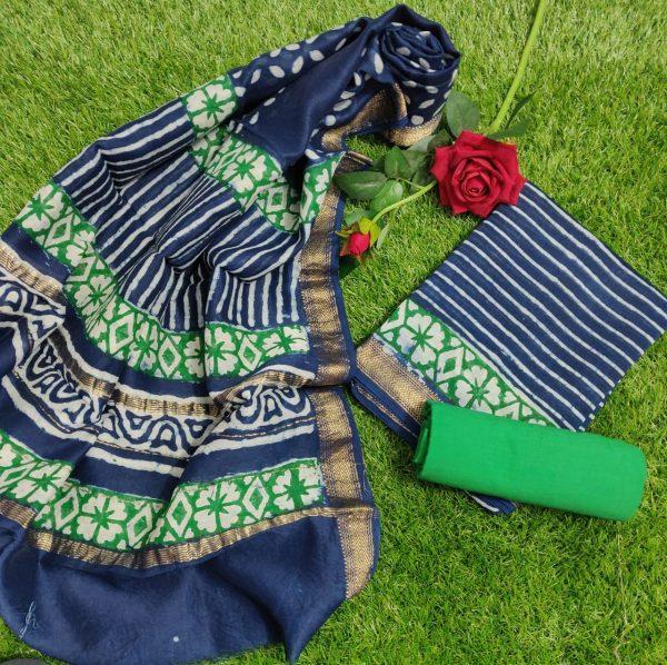 Pure Maheshwari Silk Dresses (34)