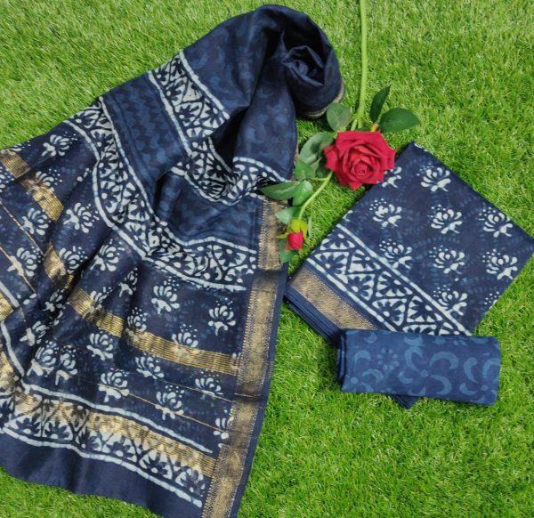 Pure Maheshwari Silk Dresses (37)
