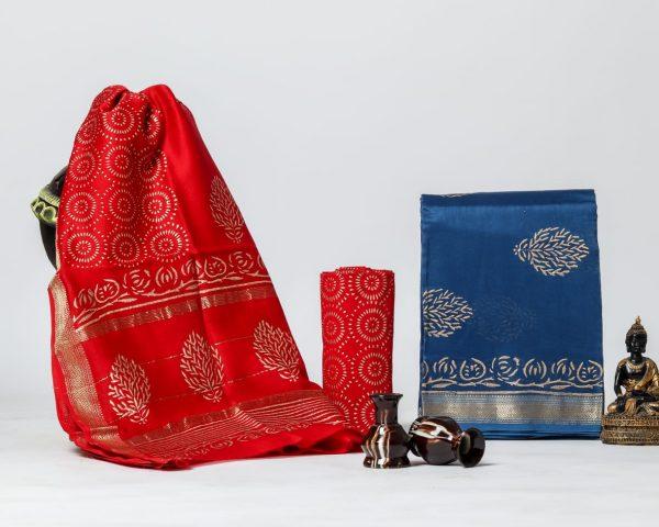 Pure Maheshwari Silk Dresses (38)