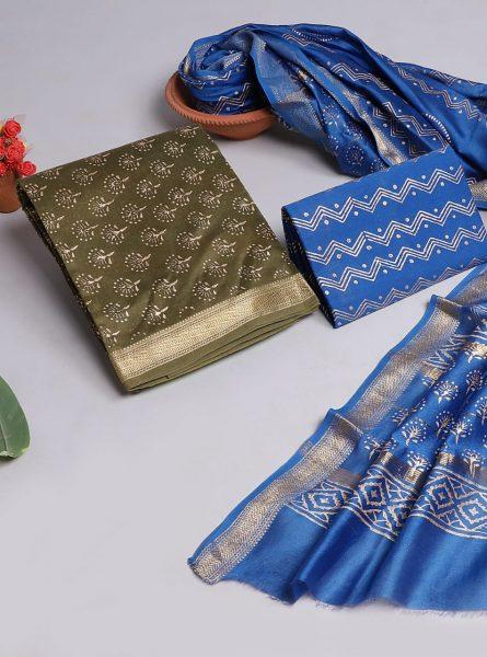 Pure Maheshwari Silk Dresses (5)