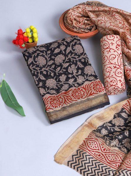 Pure Maheshwari Silk Dresses (9)
